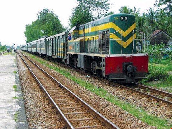Gửi hàng hóa bằng tàu hỏa