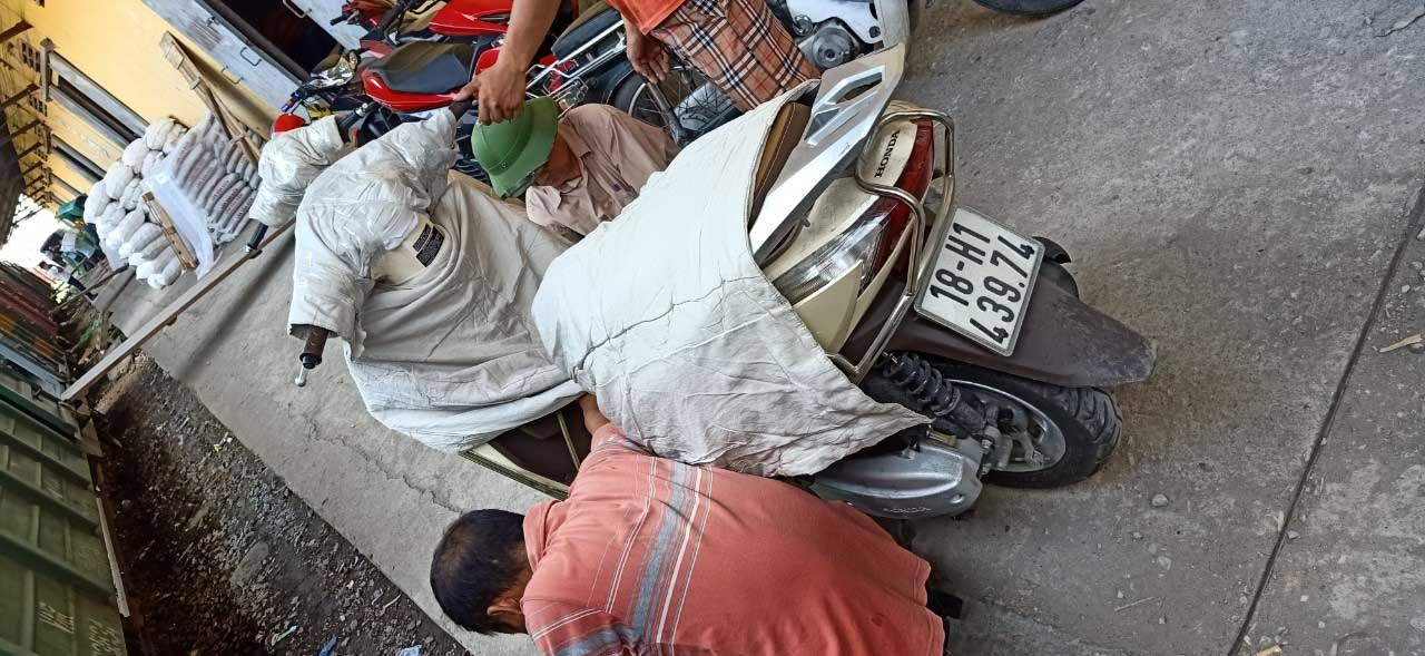 Gửi xe máy đi Nha Trang bằng tàu hỏa giá rẻ