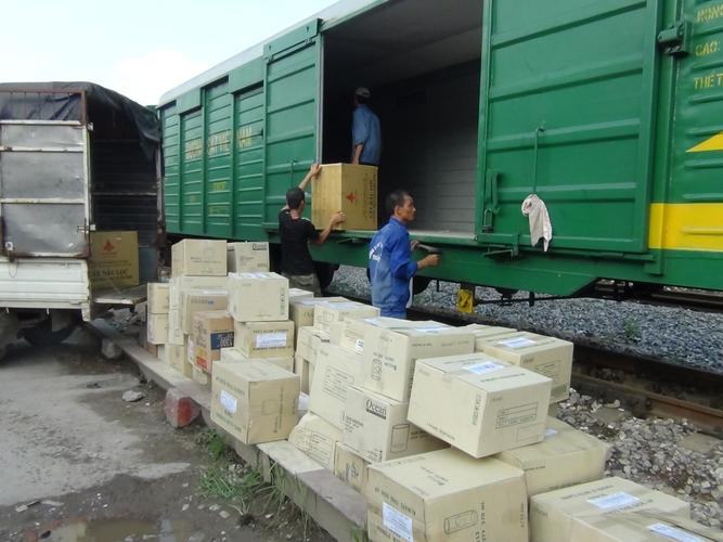 Ưu điểm của gửi hàng hóa bằng tàu hỏa